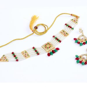 Jewellery maker | Nazee Jewels | Multi-Color Kundan Indian Jewelry