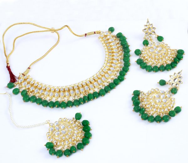 Jewelers Skill | 100% Pure Traditional Indian Kundan Jewelry in Different Colors