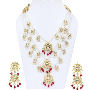 Hand Craft | Nazee Jewels | Shahi Ranni Traditional Indian Necklace